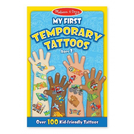 Set de tatuaje temporare Baieti Melissa and Doug MD 2947