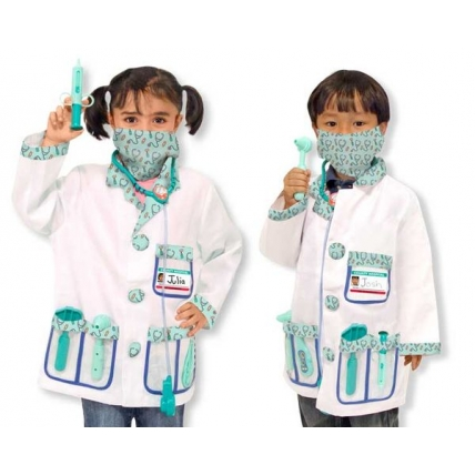 Costum carnaval copii Medic - Melissa and Doug MD 4839