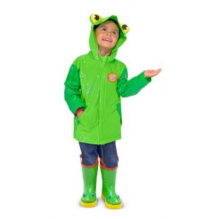Pelerina ploaie Soggy Froggy Melissa and Doug