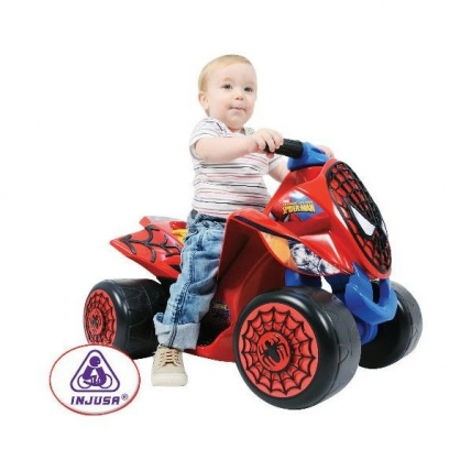 ATV electric Wind Spiderman Sense 6V pentru copil
