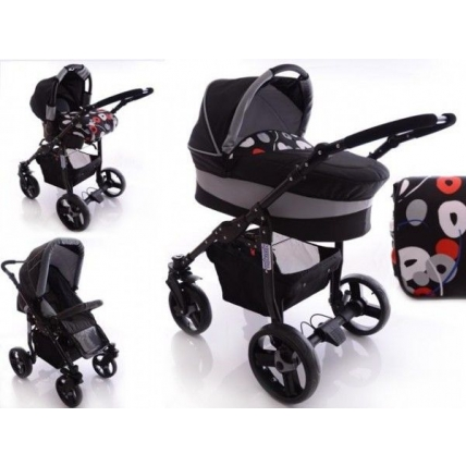 Paloma 3 in 1 - My Stroll Black Mix