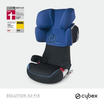 Heavenly Blue Cybex Solution X2 Fix