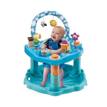 ExerSaucer Bounce&Learn Day at the beach