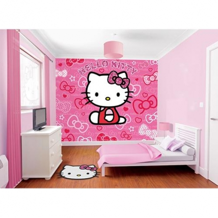 Tapet camera fetita - Hello Kitty