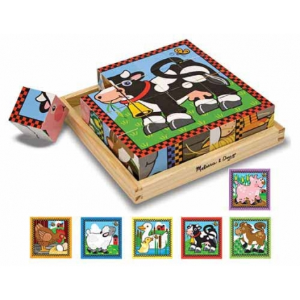 Cuburi Ferma Melissa and Doug MD 0775