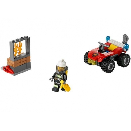 ATV de pompieri LEGO CITY 60105