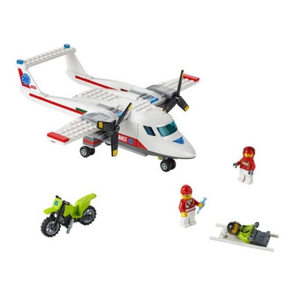 LEGO CITY 60116 - Avion sanitar