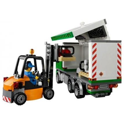 Lego City 60020 - Camion de transport si incarcator