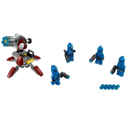 Set constructie LEGO Starwars 75088 - Senate Commando Troopers