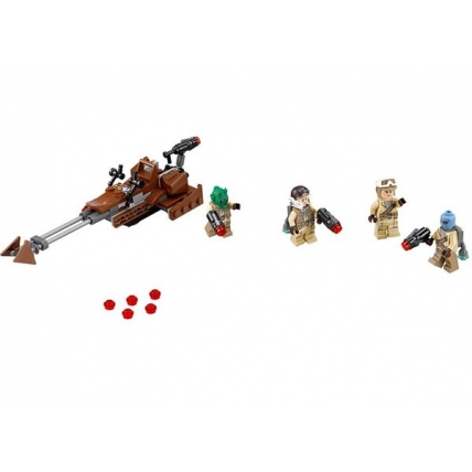 Set LEGO Starwars 75133 - Rebel Alliance Battle Pack
