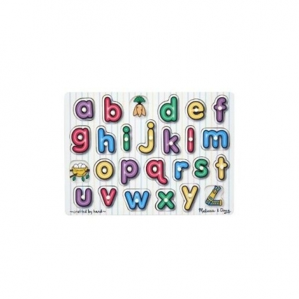 Puzzle lemn Alfabet Melissa and Doug MD 3272