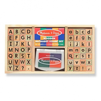 Set de stampile Alfabet Melissa and Doug MD 3557
