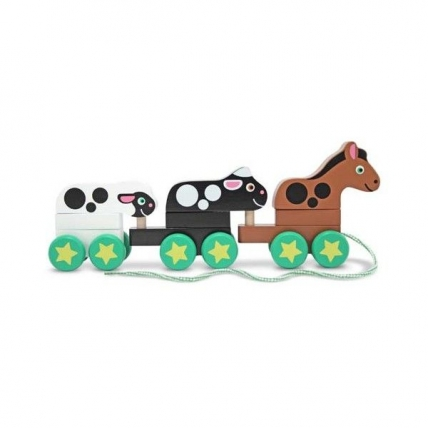 Jucarie de tras Ferma Melissa and Doug MD 0295