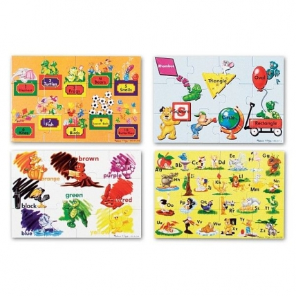 Puzzle de podea Educational 4 Melissa and Doug MD 0447