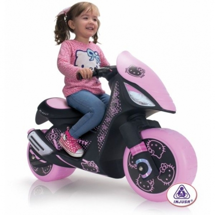 Injusa Dragon Hello Kitty - motocicleta electrica fetite