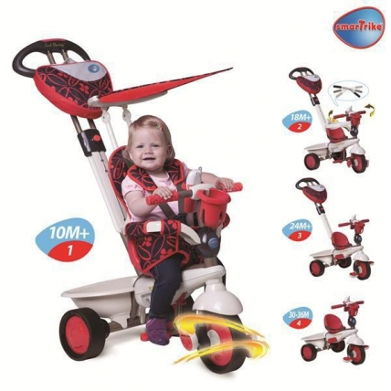 SMART TRIKE DREAM RED
