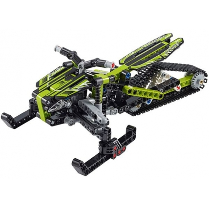 LEGO Technic 42021 Snowmobil - lateral fata
