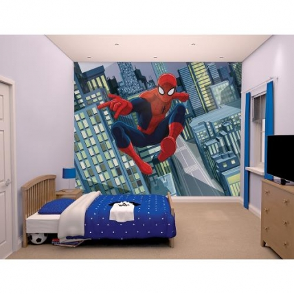 Tapet camera copil - Spider Man