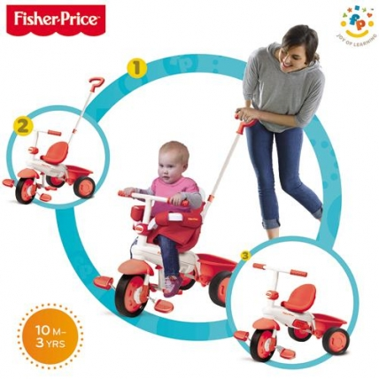 Fisher Price Classic Red - toate stadiile