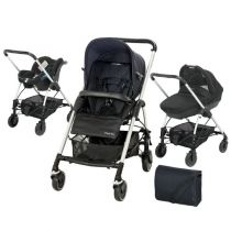 Streety Trio Bebe Confort - Total Black';