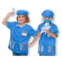Costum Medic Veterinar Melissa and Doug';