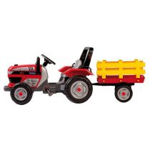 Peg Perego Tractor DIESEL cu remorca si pedale';