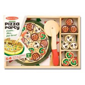 Set de joaca Pizza Party - Melissa and Doug MD 0167