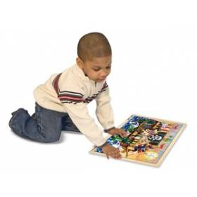 Puzzle lemn Aventura Piratilor Melissa and Doug MD 3800
