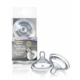 Tetine cu debit variabil Closer to Nature x 2 buc - Tommee Tippee - 0 luni
