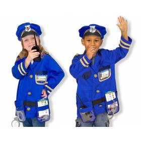 Costum carnaval copil Ofiter de Politie - Melissa and Doug MD 4835