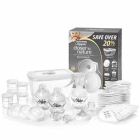 Kit de alaptare bebelus - Tommee Tippee Closer to Nature