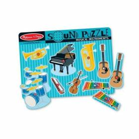 Puzzle sonor Instrumente muzicale - Melissa and Doug MD 0732