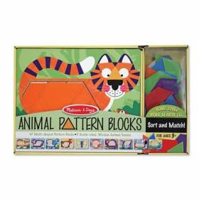 Set de sabloane cu animale Melissa and Doug MD 4382