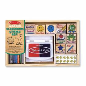 Set de stampile La scoala - Melissa and Doug MD 2400