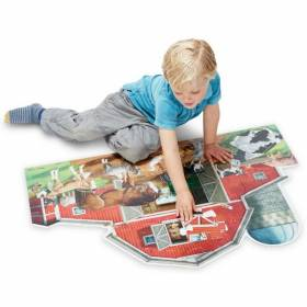 Puzzle de podea Ferma Melissa and Doug MD 2923