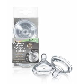 Tetina Tommee Tippee cu flux lent x 2 buc - Closer to Nature