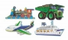 Puzzle de podea Mijloace de transport Melissa and Doug MD 0432