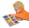 Puzzle lemn in relief Forme geometrice Melissa and DOUG MD 3730