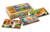 Set 4 puzzle lemn in cutie Melissa and Doug MD 3790