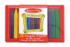 Set 12 creioane triunghiulare Melissa and Doug MD 4135