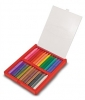 Set 24 creioane colorate triunghiulare Melissa and Doug MD 4136