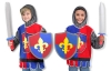 Costum carnaval copii Cavaler - Melissa and Doug MD 4849