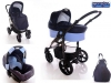Diamond 3 in 1 - My Stroll Blue indigo