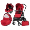 Carucior 3 in 1 Book PLUS 51 S SPORTIVO - GEO RED