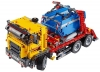 Camion cu container 42024 LEGO Technic - lateral fata sus