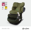 Cybex Pallas 2 Fix Graffiti Green