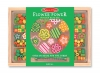 Set margele din lemn Flower Power Melissa and Doug MD 4178