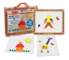 Joc de constructii magnetic - Melissa and Doug MD 3590