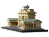 Brandenburg Gate LEGO 21011 lateral fata