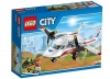LEGO CITY 60116 - Avion sanitar - cutie
